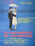 French Movie Poster Umbrellas Of Cherbourg