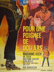 French Movie Poster A Fistful Of Dollars