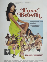 French Movie Poster Foxy Brown