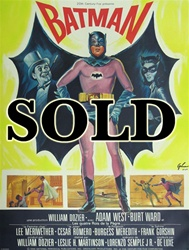 French Movie Poster Batman