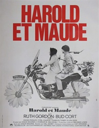 Original French Movie Poster Harold And Maude