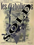 Original French Movie Poster Diabolique