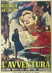 Original French Movie Poster L' Avventura