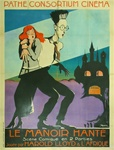 Original French Movie Poster Haunted Spooks
