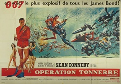 Original French Movie Poster Thunderball