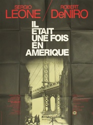 Original French Movie Poster Once Upon A Time In America