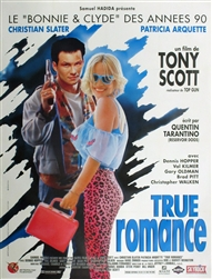 Original French Movie Poster True Romance
