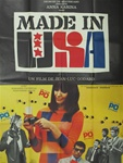 Original French Movie Poster Made In U.S.A.
