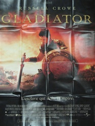 Original French Movie Poster The Gladiator