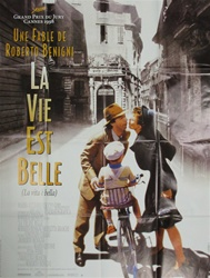 French Movie Poster Life Is Beautiful