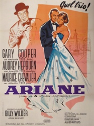 French Movie Poster Love In The Afternoon