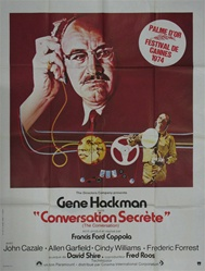 French Movie Poster The Conversation