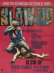 French Movie Poster Blow Up