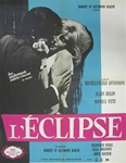 French Movie Poster L' Eclisse