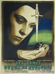 Original French Movie Poster Les Dames Du Bois De Boulogne