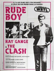 Original French Movie Poster Rude Boy