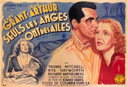 Original French Movie Poster Only Angels Have Wings