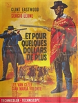 French Movie Poster For A Few Dollars More