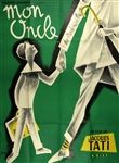 Original French Movie Poster Mon Oncle