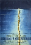Original French Movie Poster A Man Escaped
