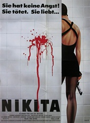 La Femme Nikita Original German Movie Poster