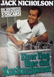 One Flew Over the Cuckoo's Nest Original German Movie Poster