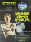 The Man Who Fell To Earth Original German Movie Poster