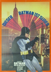 Batman Original German Movie Poster
