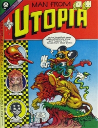 Rick Griffin Man From Utopia Original Comic Book