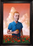 Alex Gross The Poppyfield Original Painting