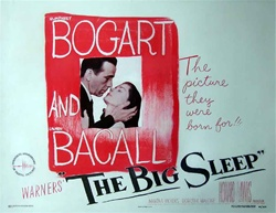 The Big Sleep Original US Half Sheet