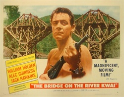 The Bridge on the River Kwai Original US Half Sheet