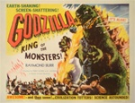 Godzilla Original US Half Sheet