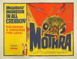 Mothra Original US Half Sheet