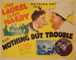 Nothing But Trouble Original US Half Sheet