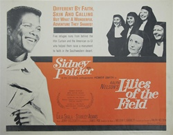 Lilies of the Field Original US Half Sheet