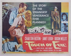 Touch of Evil Original US Half Sheet