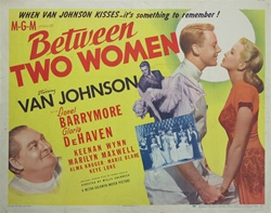 Between Two Women Original US Half Sheet
