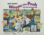 Winnie the Pooh Original US Half Sheet
