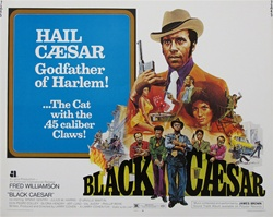 Black Caesar Original US Half Sheet