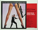 For Your Eyes Only Original US Half Sheet