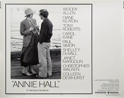 Annie Hall Original US Half Sheet