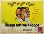 Robin And The 7 Hoods Original US Half Sheet