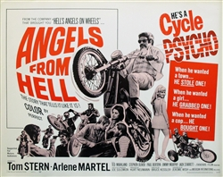 Angels From Hell Original US Half Sheet