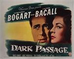 Dark Passage Original US Half Sheet