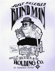Blind Man: Big Brother and the Holding Company Original Handbill