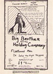 Big Brother and the Holding Company/Fleetwood Mac Original Concert Handbill