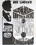 Grateful Dead And Moby Grape Original Concert Handbill