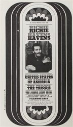Richie Havens Original Concert Handbill