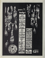Benefit For The Both And Jazz Club Original Concert Handbill